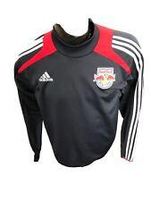 MENS Medium Adidas Pullover Sweater Red Bull New York MLS SOCCER