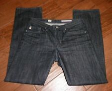 Men's AG Adriano Goldschmied Protege Straight Leg Black Jeans Size 32x32