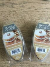 Yankee Candle Fragrance Wax Melts - Luscious Pumpkin Trifle Lot of 2 - NEW!!!