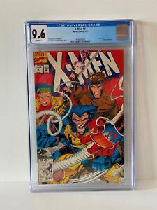 CGC 9.6 NEAR MINT PLUS ~ X-Men # 4 ~ 1992 ~ First 1st OMEGA RED ~ JIM LEE