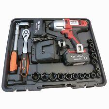 "Blackline Tools 450Nm Impact Wrench 1/2"" Cordless Sockets & Ratchet Inc - SWE202"