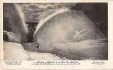Catalonia Spain Snow Plow Real Photo Antique Postcard J50770