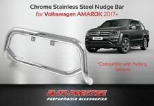 Chrome Sensor Compatible Nudge bar for Volkswagen Amarok 2017-Present