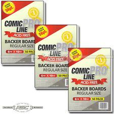 "150 - Comic Pro Line Regular Size 56pt Premium Backer Boards - 6-7/8"" x 10-1/2"""
