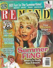 Remind Magazine July 2018 Summer Fling Gidget American Graffiti Radio Romance NM