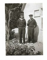Foto, Zwei Soldaten in Matrosen Uniform, 1929