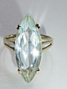 Ring Gold 585 mit Aquamarin