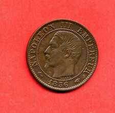 (BR.92) 5 CENTIMES NAPOLÉON III 1856 W LILLE ( SUP-) ancre