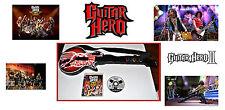 G HERO GIBSON AEROSMITH GUITAR & PS3 GUITAR HERO AEROSMITH & PS2 GUITAR HERO 2.