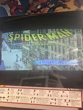 Spiderman Arcade Pcb 4 Player