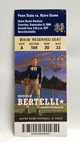Notre Dame Irish Penn State 2006 Football Ticket Stub Angelo Bertelli Heisman