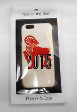 "BLOOMINGDALE'S White ""YEAR OF THE RAM"" iPhone 6 Case Msrp $30.00"