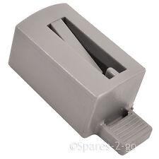 INDESIT Lavastoviglie Originale di carico Rack Cesto RAIL Indietro Stop clip in plastica