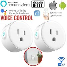 WIFI Smart Plug Socket Outlet Switch Timmer APP Remote Control Alexa/Google Home