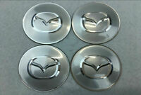 4Pcs Auto Rad Center Radkappe Emblem Nabendeckel 65mm für Mazda Mazdaspeed