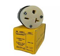HUBBELL Insulgrip HBL5469C Female Plug 20A 250V 3 Wire