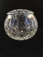 "Royal Brierley Crystal Posy Bowl / Vase Signed 1st Quality 3 1/2"" Tall"