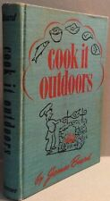 James Beard- 1941- Cook It Outdoors- Early James Beard Cookbook- orig. Dj, 1stEd