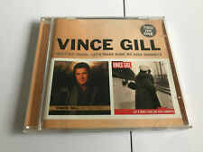 Vince Gill - Next Big Thing/Let's Make Sure We Kiss Goodbye (2008) 2 CD NR MINT