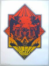 THE BLACK ANGELS- ORIGINAL SIGNED/NUMBERED 2006 CONCERT POSTER by SQUAD19