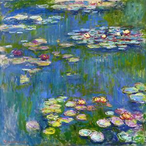 Water Lilies Claude Monet (1916) wall art poster print