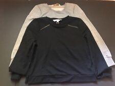 Junior Women Nicki Minaj Sweater Size XLarge LOT OF 2 Black & Gray Long Sleeves