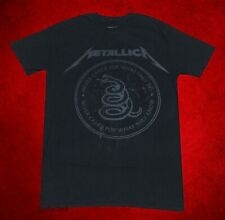 New Metallica The Black Album 1991 Men's Vintage Classic T-Shirt