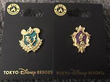 Tokyo Disney Resort Pin Gold Frame Donald And Daisy Set Of 2 Tdr Japan.