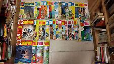 Lot de 44 magazines Spirou année 1975/1976 N° 1929 à 1972