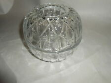 Home Interior Fairy Lamp Princess Cut Glass Candle Holder