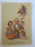 """Ostern, Kinder, Ostereier, Huhn"" 1945 ♥ (28092)"