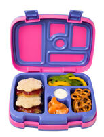 Bentgo Kids Bento Lunch Box - Purple Fuchsia