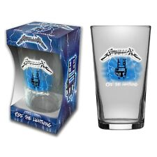 Metallica Ride The Lightning Beer Glass (rz)