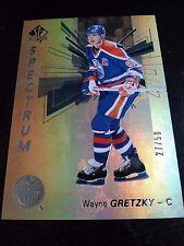 Wayne Gretzky 2016-17 SP Authentic Spectrum FX Gold /50 Oilers
