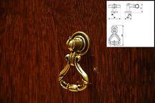 Retro Brass Finish Furniture Kitchen Drawer Cupboard Cabinet Pull Handles Knob
