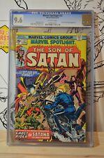 Marvel Spotlight #22 CGC 9.2 Ghost Rider EARLY Santana Son of Satan / Hellstorm