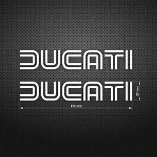 DUCATI Line type STICKER DIE CUT DECAL VINYL RACING 2 pcs