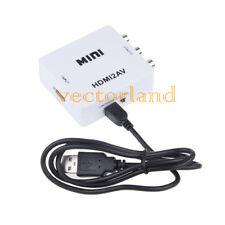 HDMI 2av HDMI al riconoscimento AUDIO 3rca/av + convertitore video composito per PC HD-DVD HDTC