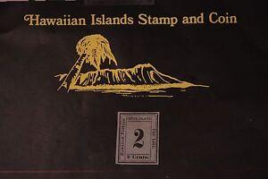 39 HAWAII SCOTT #18 UNUSED 1863 KINGDOM OF HAWAII NUMERALS