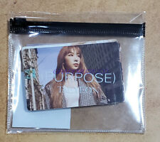TAEYEON Purpose Repackage SNSD SMTOWN OFFICIAL GOODS STICKER PACK SET SEALED