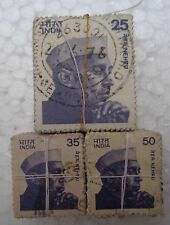 300 Pcs LOT ( 3 Bundles) - 3 DIFFERENT * 100 - NEHRU Stamp - india