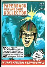 PAPERBACK PULP & COMIC COLLECTOR #7, 1992 rare British digest book collector mag