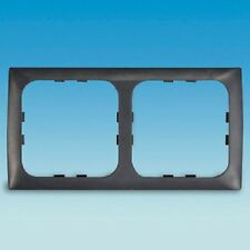 C- LINE  2 WAY FACE SURROUND PLATE DARK GREY  ,CAMPER, MOTORHOME, CARAVAN,