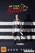 Better Call Saul : Season 3 (Blu-ray, 2017, 3-Disc Set)