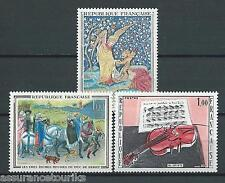 TABLEAUX - 1965 YT 1457 à 1459 - TIMBRES NEUFS** MNH LUXE