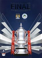 F A CUP FINAL 2013 MAN CITY v WIGAN MINT PROGRAMME MANCHESTER
