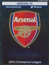 N°400 BADGE LOGO # ENGLAND ARSENAL.FC CHAMPIONS LEAGUE 2014 STICKER PANINI