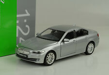 2010 bmw 535i Silver plata 1:24 Welly