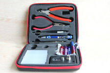 Coil Master VAPE Bag DIY KIT TOOL SET Coil Jig ohm Meter Ceramic Tweezer