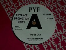 "Sonny Knowles & Pacific Showband ""We Could"" Pye Demo 45"